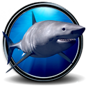 Great White Shark Real 3D icon