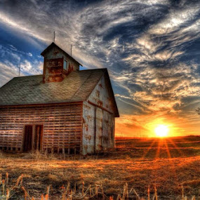 Corn crib  by Casey Mitchell - Buildings & Architecture Decaying & Abandoned (  )