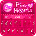 GO Keyboard Pink Hearts Theme icon