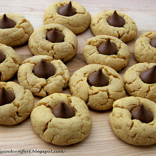 Peanut Blossom Cookies Without Flour Recipes.