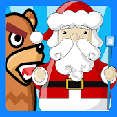 Santa and The Bear