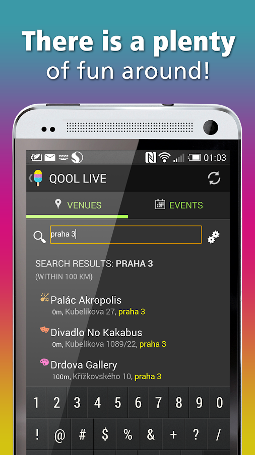 Prague events & tickets | Qool- screenshot