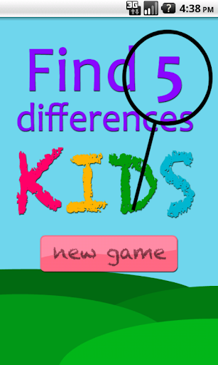 Find 5 Differences KIDS