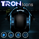 Crazy Home Tron Like Icon pack