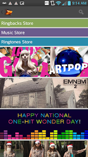 Boost Mobile Music Store - screenshot thumbnail