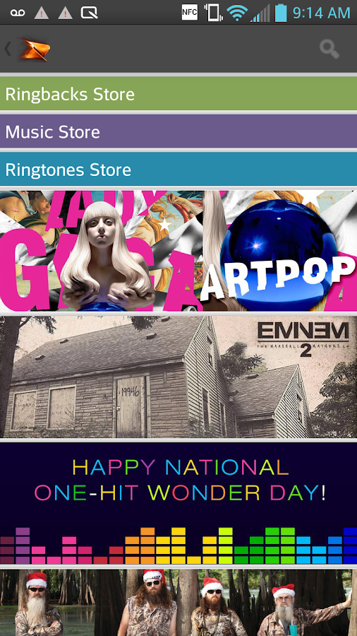Boost Mobile Music Store - screenshot