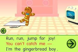 Screenshot of Starfall Gingerbread