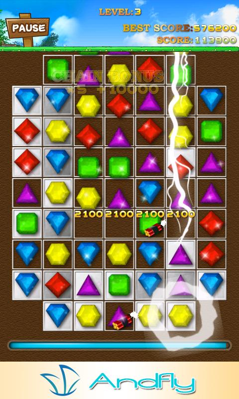 Jewels Magic - screenshot