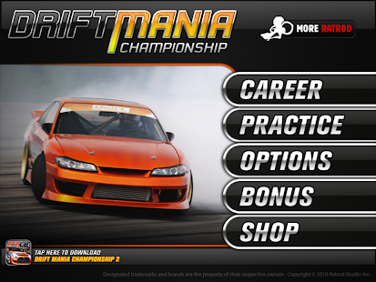 Drift Mania Championship Lite- screenshot thumbnail