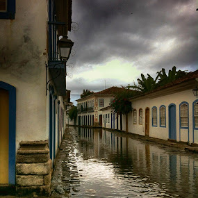 High Tide in Paraty by Darrell Champlin - Instagram & Mobile iPhone (  )