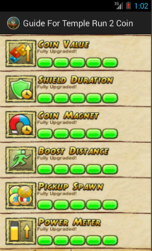 Guide For Temple Run 2 Coin