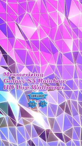 Galaxy S5 Mesmerizing Rainbow