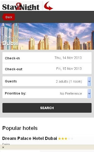 Dubai Hotel booking