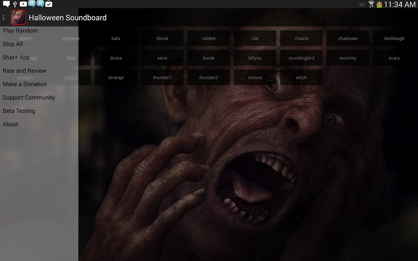 Halloween Soundboard - screenshot