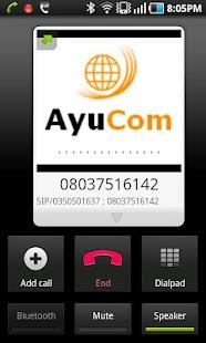 ayucom- screenshot thumbnail