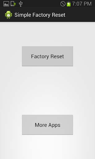[Free] Simple Factory Reset