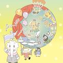 動物大道芸団 ズー!てんこ盛り版 logo