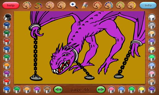 Coloring Book 25 Lite: Dragon