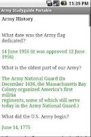 Screenshot of Army Board Study Guide
