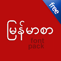 Flipfont Zawgyi Myanmar Fonts icon