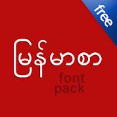 Flipfont Zawgyi Myanmar Fonts