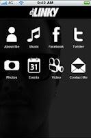 Screenshot of DJ LINKY