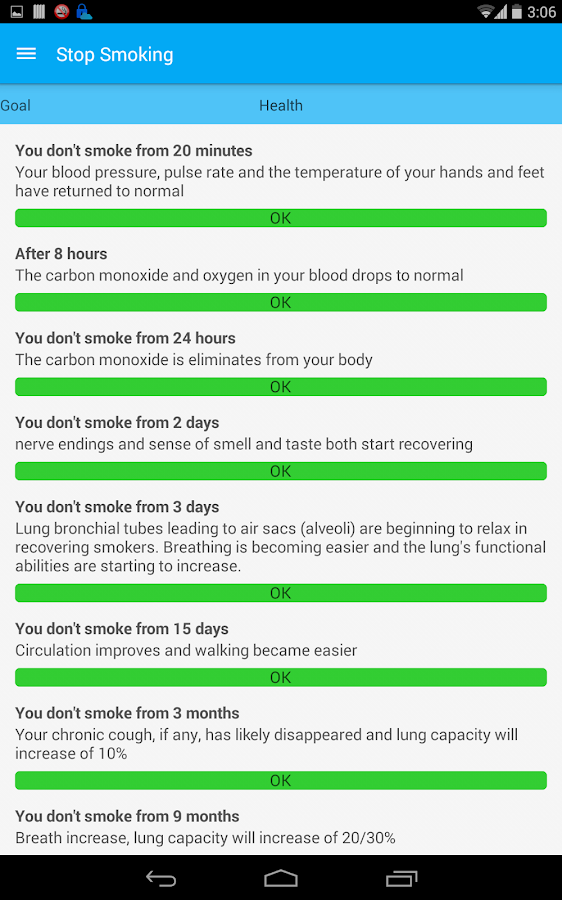 Stop Smoking- screenshot