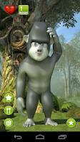 Screenshot of Gary, the talking gorilla