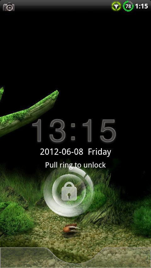 GO Locker Aquarium Theme- screenshot