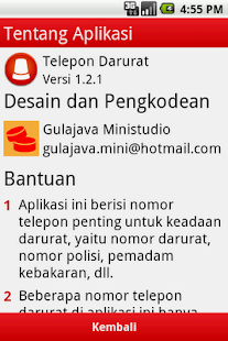 Telepon Darurat - screenshot thumbnail