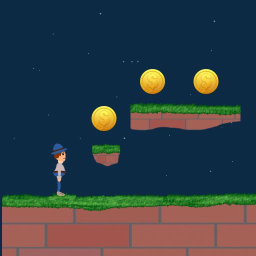 Boy Jumping LOGO-APP點子