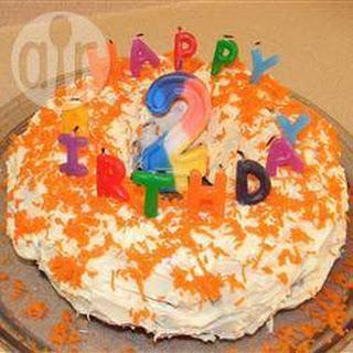 Fragrant Citrus Carrot Cake