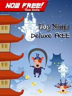 Dog Ninja - Puppy fly jump run