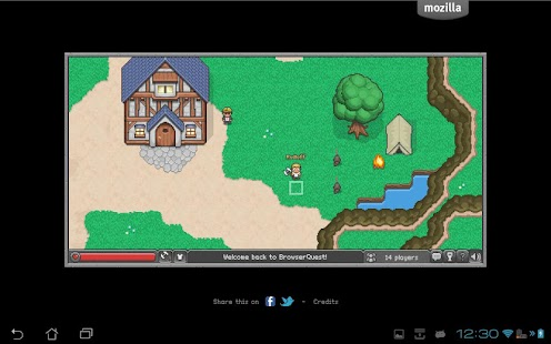 BrowserQuest- screenshot thumbnail