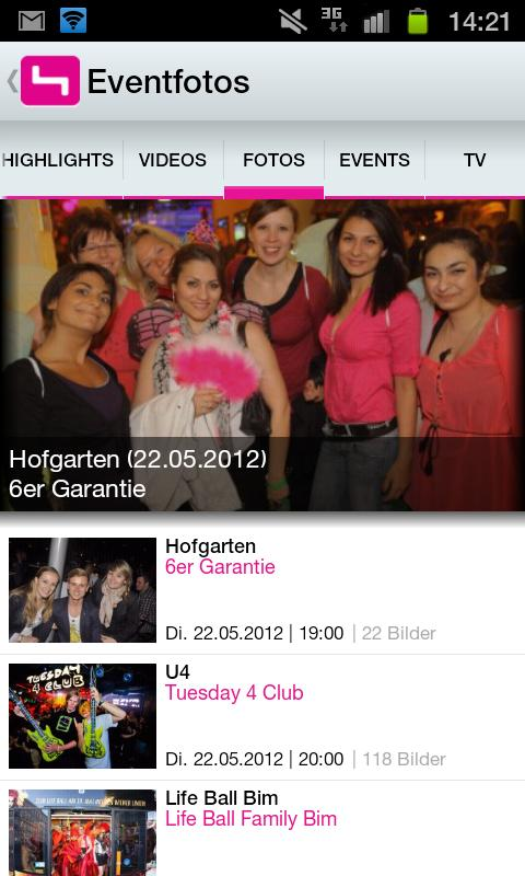 PULS 4 - screenshot