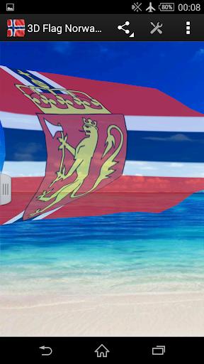 3D Flag Norway LWP|玩生活App免費|玩APPs