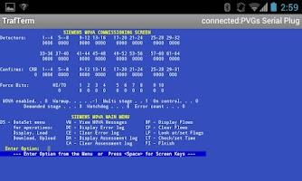 Screenshot of TrafTerm