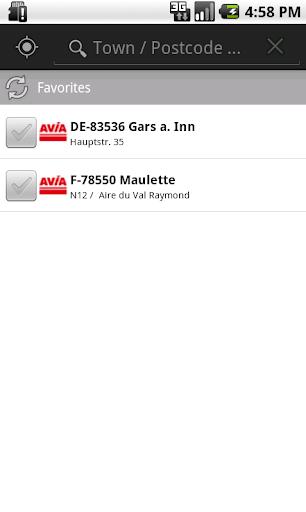 AVIA Tankstellenverzeichnis