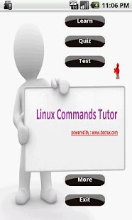 Linux Commands Tutor - screenshot thumbnail