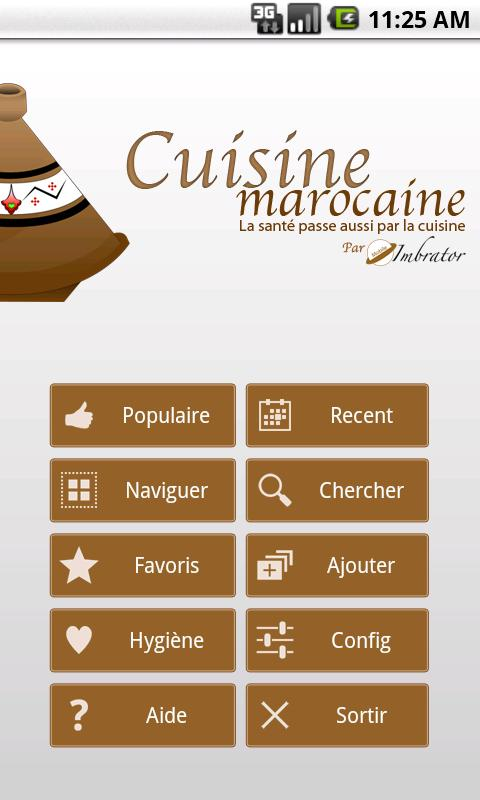 cuisine marocaine - android apps on google play