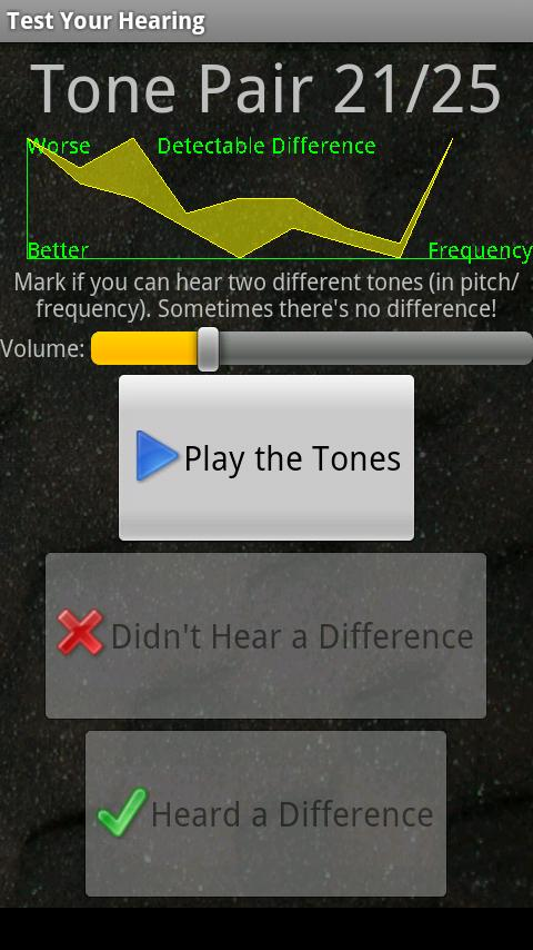 Test Your Hearing- screenshot
