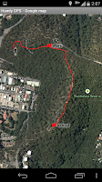 Screenshot of Handy GPS