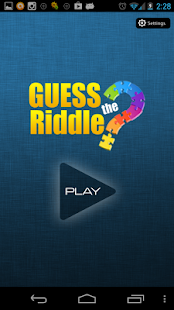 Guess the Riddle : Puzzle game - screenshot thumbnail