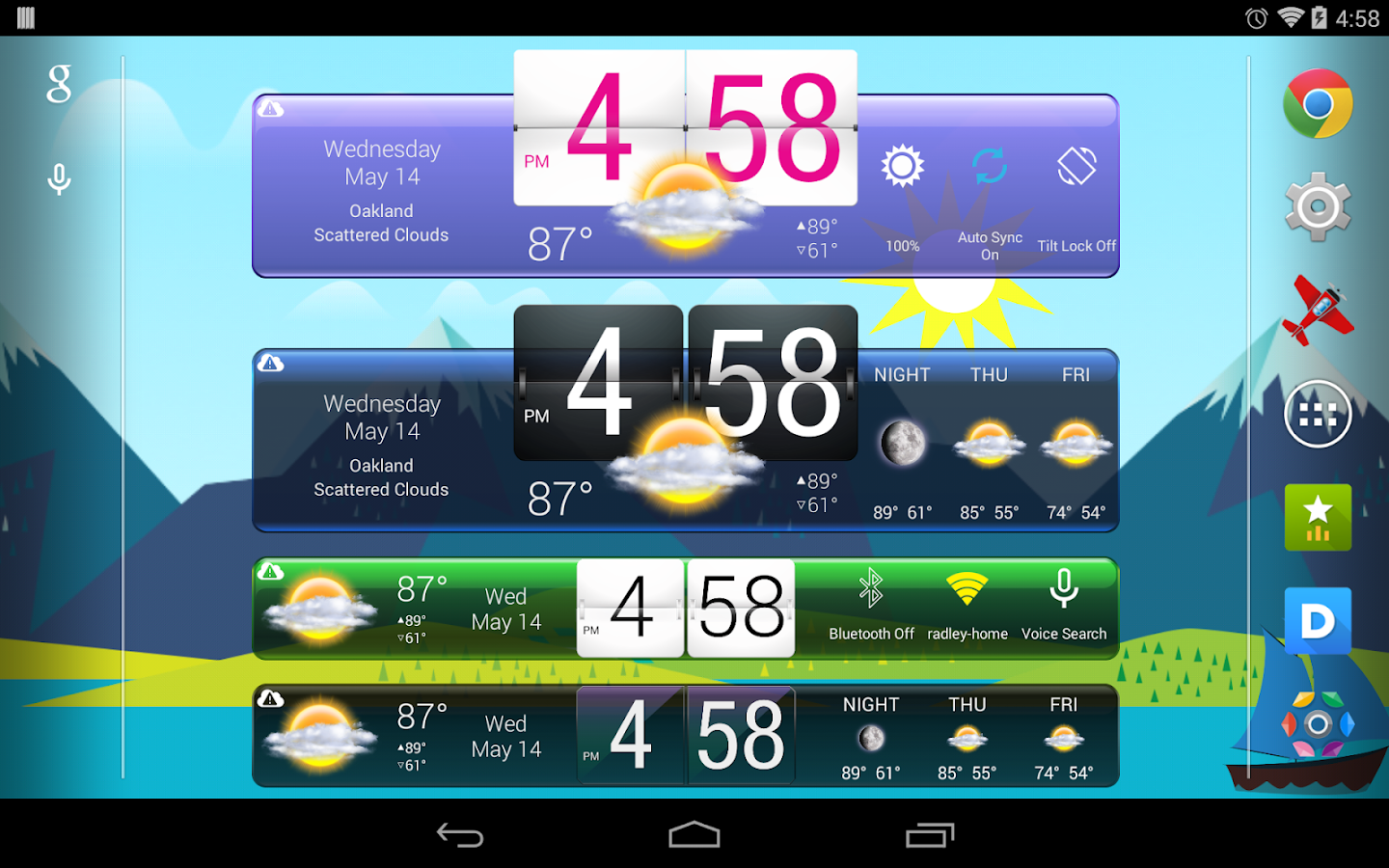 HD Widgets - screenshot