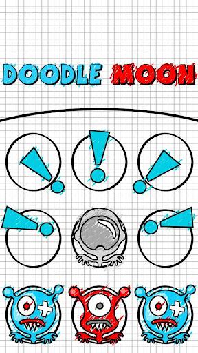 Doodle Moon