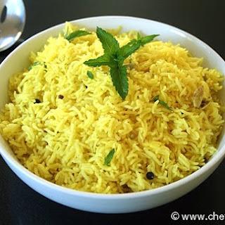Turmeric and Peppercorn Rice