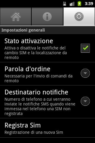 Guardroid - screenshot