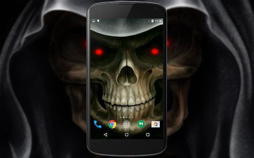 Skull 3d live wallpaper android apps on google play skull 3d live wallpaper screenshot thumbnail voltagebd Images