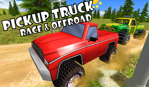 Pickup Truck Race Offroad Kids