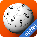 3D Ball Compass Ad-Free icon